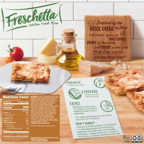 Freschetta Five Cheese Brick Oven Crust Pizza Perspective: back