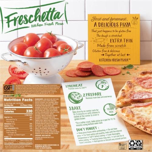 Freschetta Gluten Free Pepperoni Pizza Perspective: back