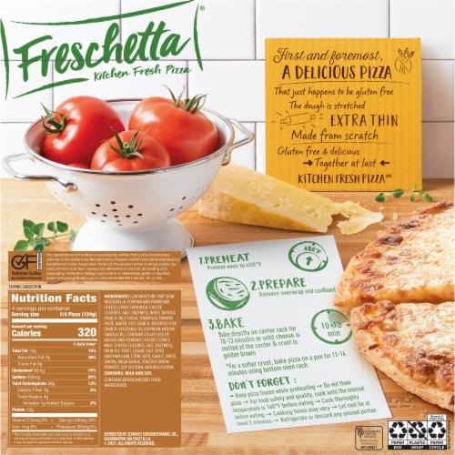 Freschetta Gluten Free Four Cheese Pizza Perspective: back
