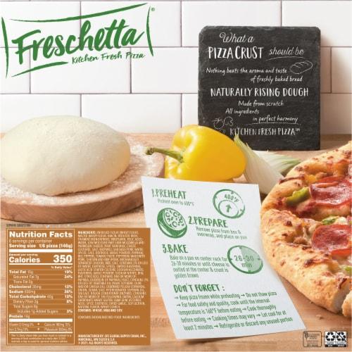 Freschetta Naturally Rising Crust Supreme Pizza Perspective: back