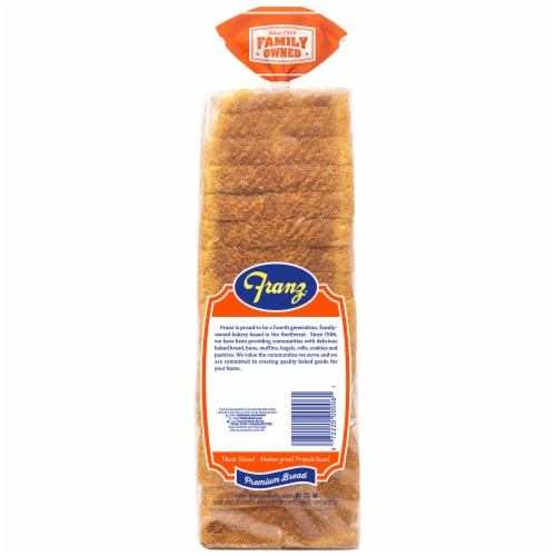 Franz® Thick Sliced Texas Toast Premium Bread Perspective: back