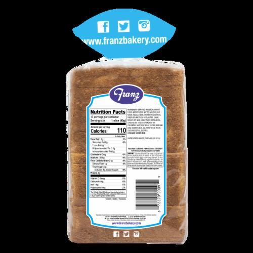 Franz Cannon Beach Milk & Honey Bread Perspective: back