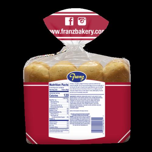 Franz® Hot Dog Buns Perspective: back