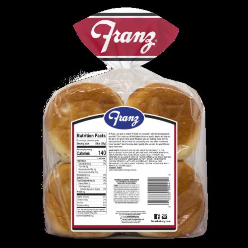 Franz® Sesame Hamburger Buns Perspective: back