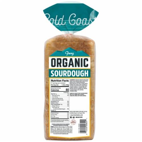 Franz® Organic Gold Coast Sourdough Bread Perspective: back