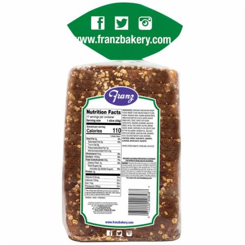 Franz® Lake Washington Honey Oat & Nut Bread Perspective: back