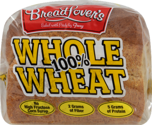 Bread Lover's™ 100% Whole Wheat Bread Perspective: back