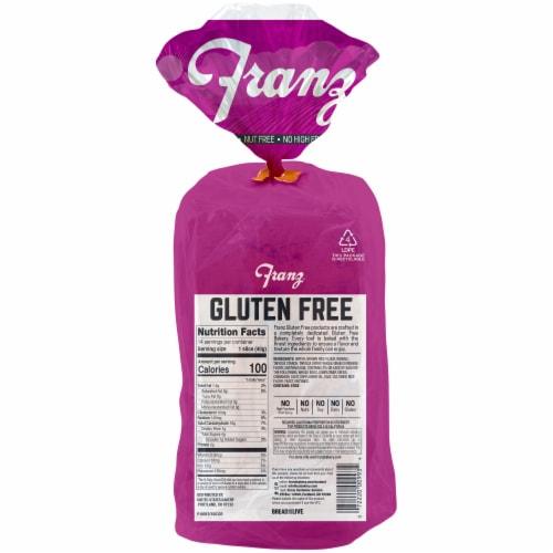 Franz® Gluten Free Cinnamon Raisin Bread Perspective: back