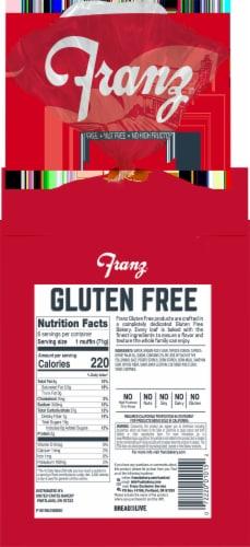 Franz Gluten Free English Muffins Perspective: back