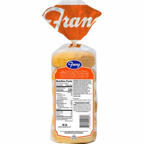 Franz® Hawaiian Premium Bagels Perspective: back