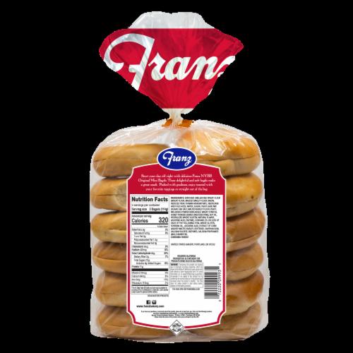 Franz® Original Premium Mini Bagels Perspective: back