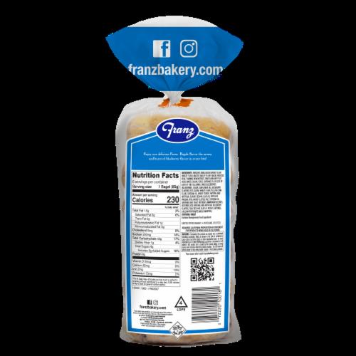 Franz® New York Bagel Boys® Blueberry Premium Bagels Perspective: back