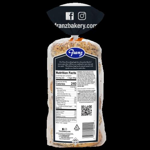 Franz® Everything Premium Bagels Perspective: back