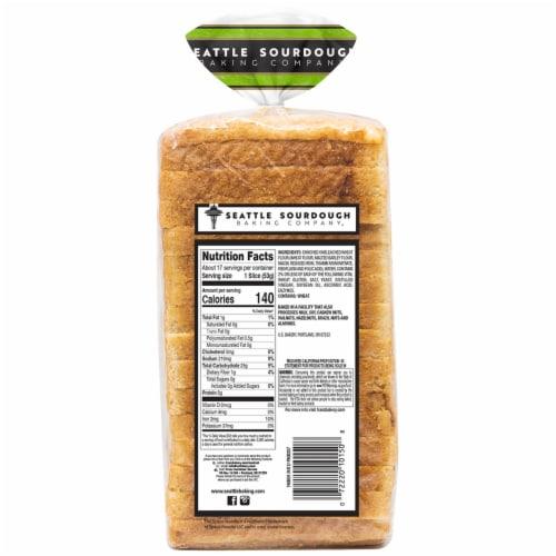 Seattle Sourdough Baking Co. Old Town Sourdough Bread Perspective: back