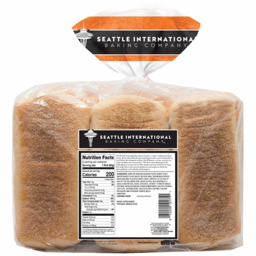 Seattle International Baking Company Solid Rolls Perspective: back