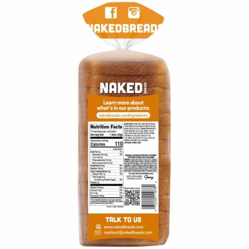 Naked Bread® Potato Sandwich Bread Perspective: back