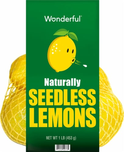 Wonderful Seedless Lemons Perspective: back