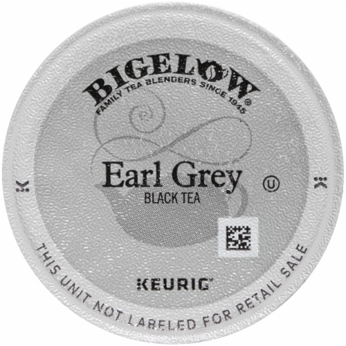 Bigelow Earl Grey Black Tea K-Cup® Pods Perspective: back