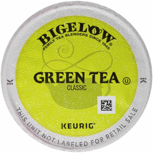 Bigelow Classic Green Tea K-Cup® Pods Perspective: back