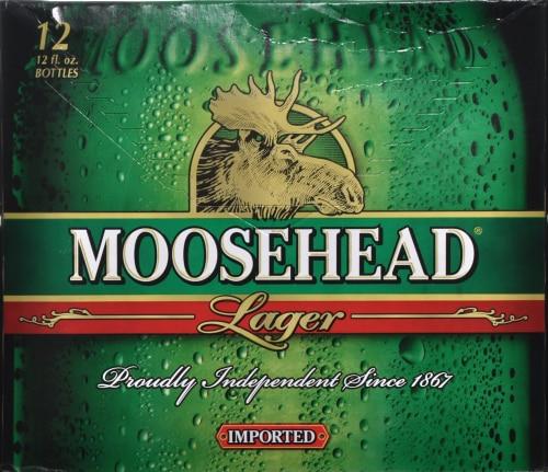 Moosehead Beer Perspective: back