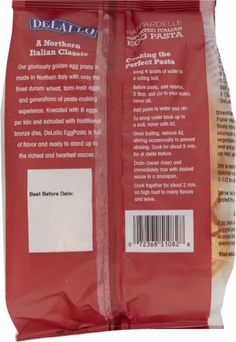 DeLallo® Egg Pappardelle Pasta Perspective: back