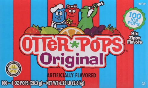 Otter Pops Original Ice Pops Perspective: back