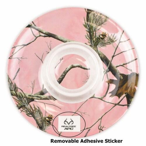 Design Imports CRT10614 Realtree APC Pink Chips & Dip Platter - Set of 2 Perspective: back