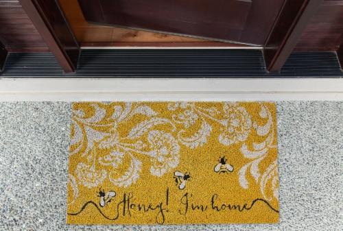 DII Honey I'm Home Doormat Perspective: back