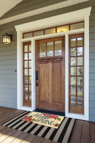 DII Hellow Spring Doormat Perspective: back