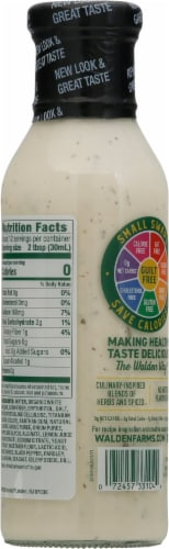 Walden Farms Ranch Dressing Perspective: back