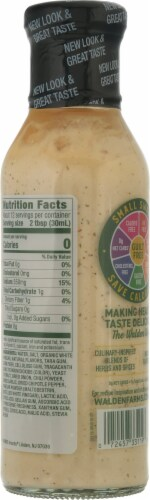 Walden Farms Calorie Free Chipotle Ranch Dressing Perspective: back