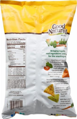 Good Natured Gluten Free Veg-ables! Potato/Veggie Snacks Perspective: back
