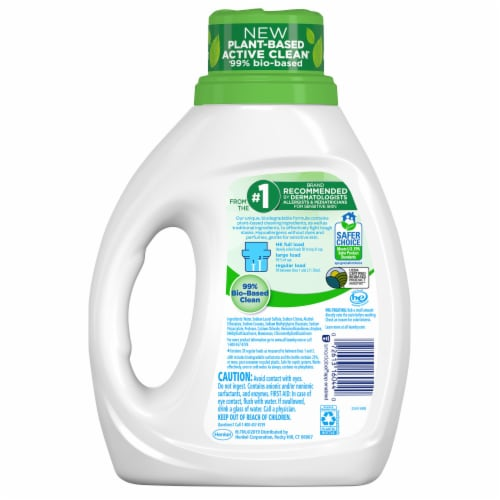 All Ultra Free Clear Pure Liquid Detergent Perspective: back