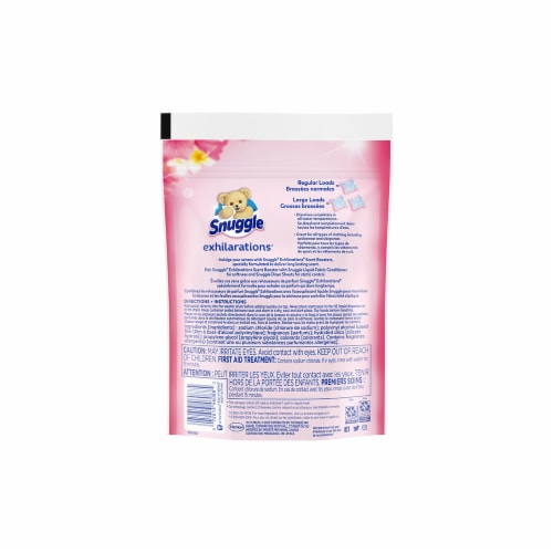 Snuggle Scent Boosters Island Dreams Concentrated Scent Pacs Perspective: back