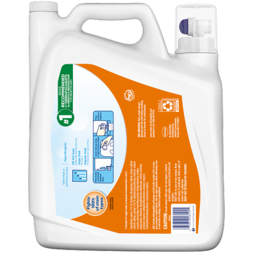 All with Stainlifters Free Clear Oxi Liquid Laundry Detergent Perspective: back
