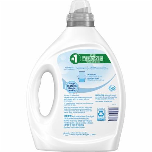 All Free Clear Liquid Detergent Perspective: back