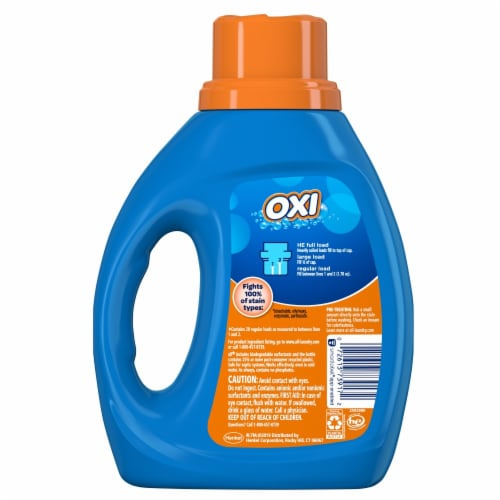 All Stainlifters Oxi Liquid Laundry Detergent Perspective: back