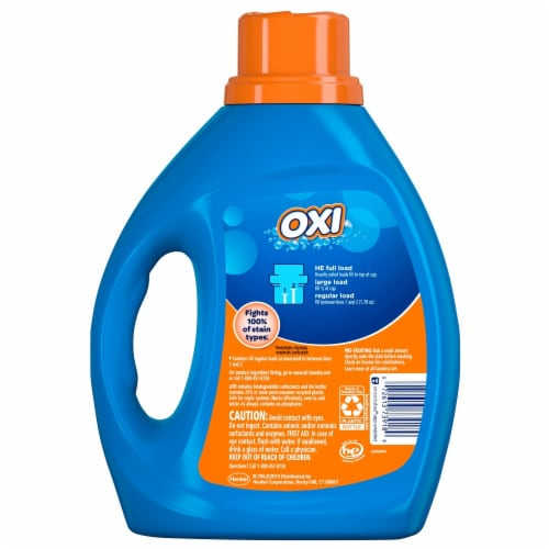 All with Stainlifters Oxi Liquid Laundry Detergent Perspective: back