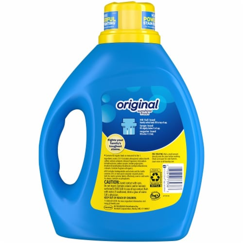 All Stainlifters Original Liquid Laundry Detergent Perspective: back