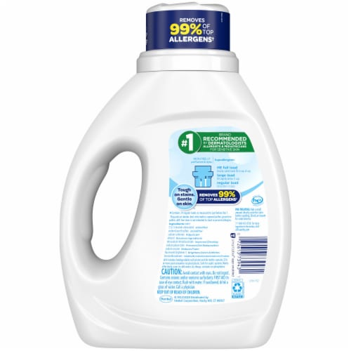 All Stainlifters Free Clear Liquid Laundry Detergent Perspective: back