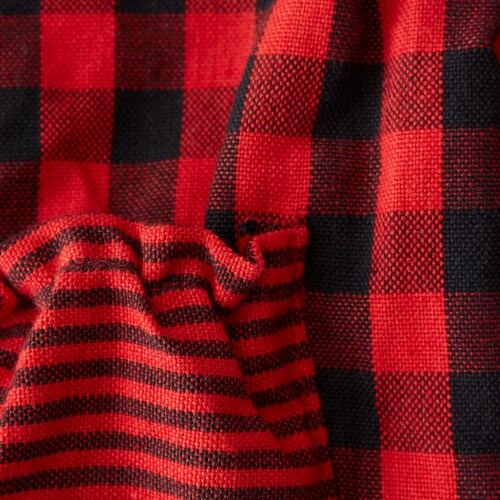 DII Red/Black Gingham Apron Perspective: back