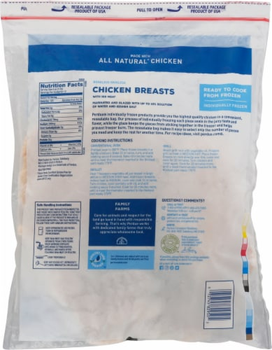Perdue Boneless Skinless Chicken Breasts Perspective: back