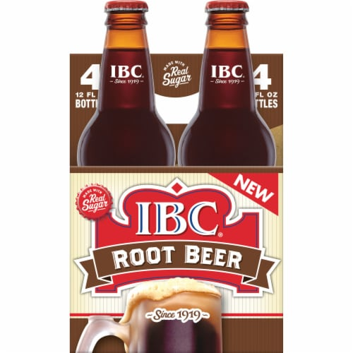 IBC Real Sugar Root Beer Perspective: back