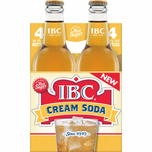 IBC Made with Sugar Cream Soda Perspective: back
