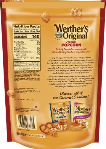 Werther's Original Classic Caramel Popcorn Perspective: back