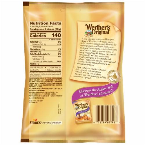 Werther's Original Soft Caramels Perspective: back