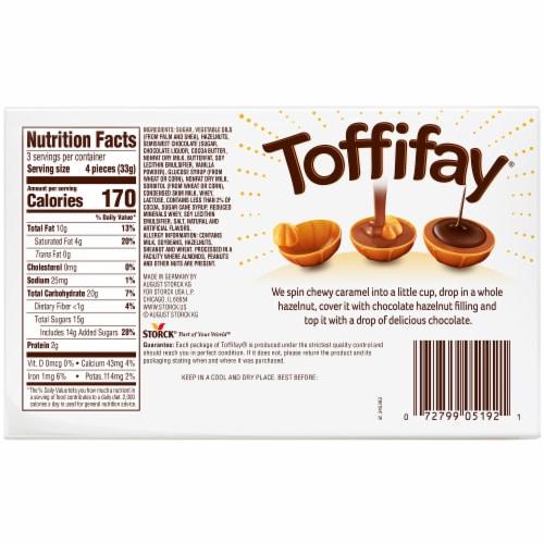 Toffifay Hazelnut Caramel Chocolates Perspective: back