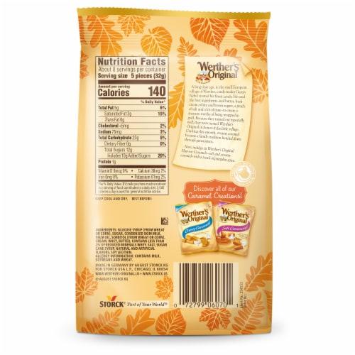 Werther's Original Pumpkin Spice Soft Caramels Perspective: back