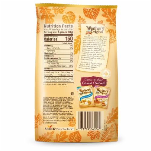 Werther's Original Cinnamon Creme Soft Caramels Perspective: back