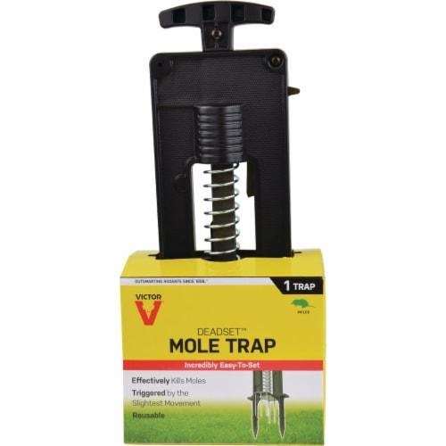 Victor Plastic Plunger Mole Trap M9015 Perspective: back